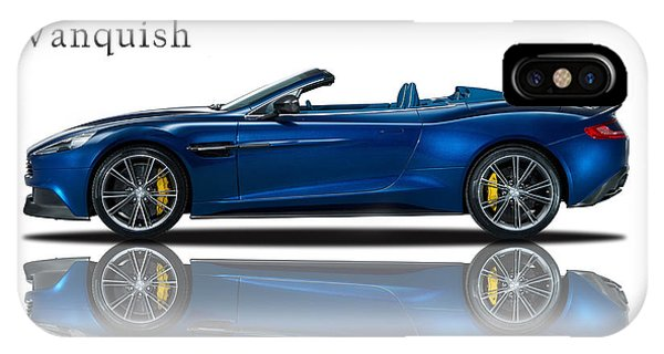 Martin iPhone Case - Aston Martin Vanquish Volante by Mark Rogan