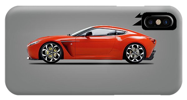 Martin iPhone Case - Aston Martin V12 Zagato by Mark Rogan