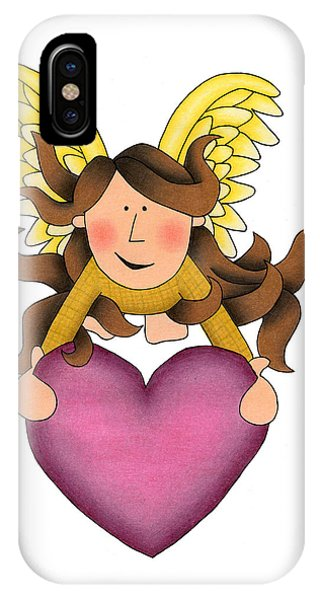 From The Heart IPhone Case