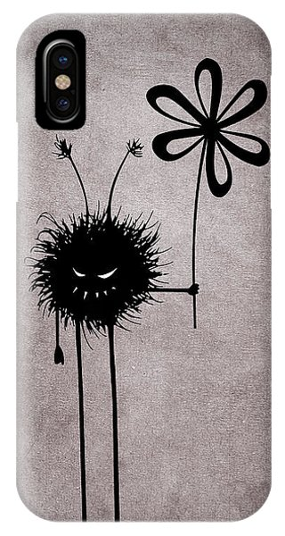 Evil Flower Bug IPhone Case