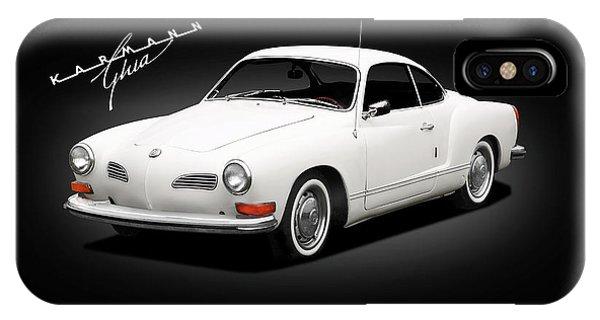 Volkswagen iPhone Case - Vw Karmann Ghia by Mark Rogan