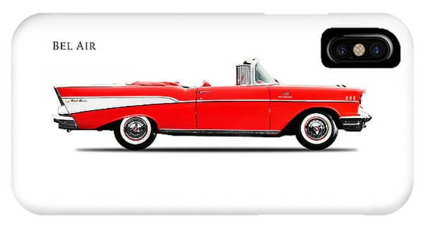 Chevrolet Bel Air IPhone Case   Chevrolet Bel Air Convertible 1957 By Mark  Rogan