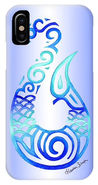 Tribal Fish Hook IPhone Case