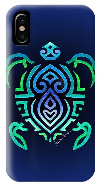 Tribal Turtle IPhone Case