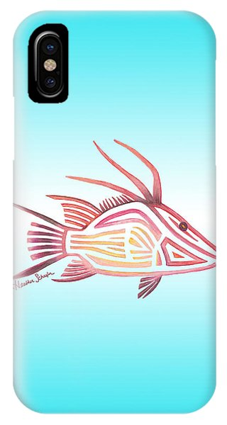Hogfish IPhone Case