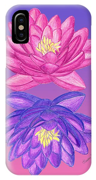 Sunrise Sunset Lotus IPhone Case