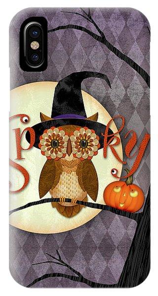 Spooky Owl IPhone Case
