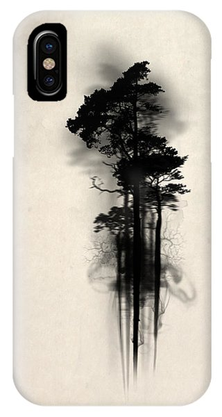 Fog iPhone Case - Enchanted Forest by Nicklas Gustafsson