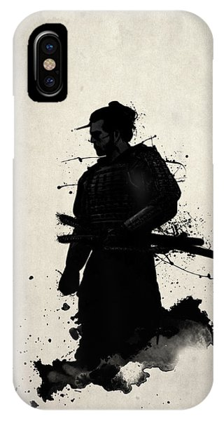 Digital iPhone Case - Samurai by Nicklas Gustafsson