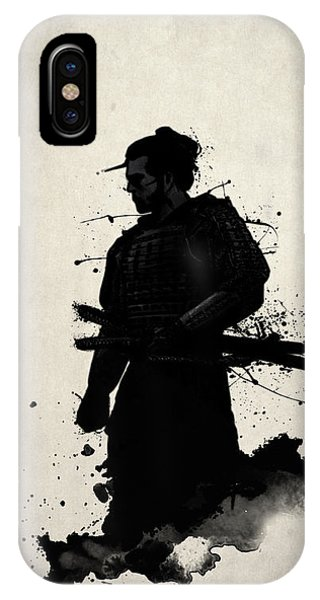 Illustration iPhone Case - Samurai by Nicklas Gustafsson