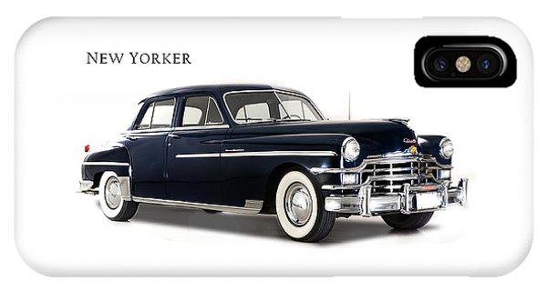 Chrysler New Yorker 1949 IPhone Case