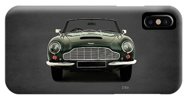 Martin iPhone Case - Aston Martin Db6 by Mark Rogan