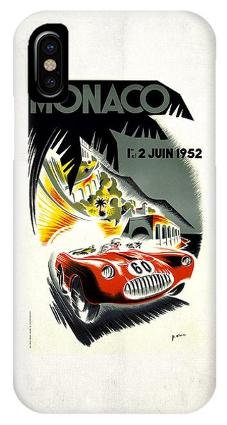 Monaco 1952 IPhone Case