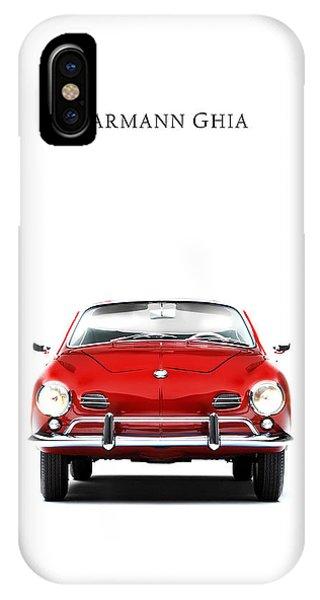 Volkswagen iPhone Case - Volkswagen Karmann Ghia by Mark Rogan