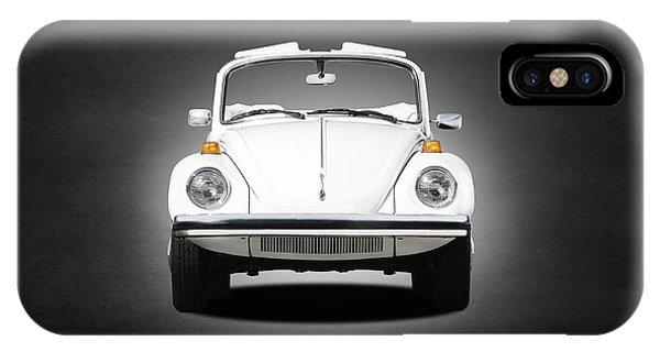 Volkswagen iPhone Case - Volkswagen Beetle by Mark Rogan