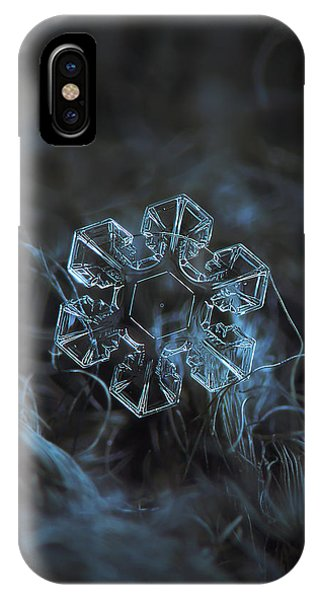 Snowflake Photo - The Core IPhone Case