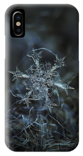 Snowflake Photo - Starlight IPhone Case