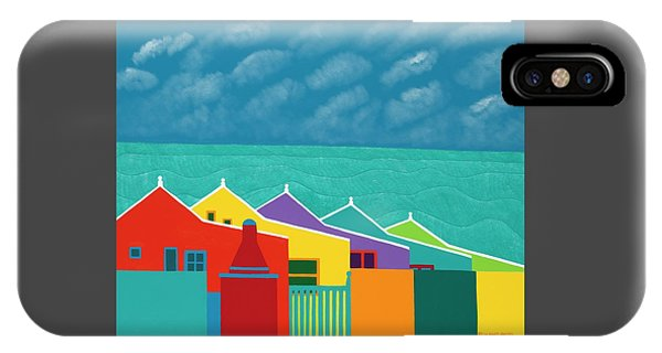 iPhone X Case - Aruba Fantasy  by Synthia SAINT JAMES