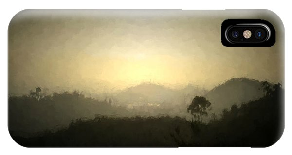 Ascend The Hill Of The Lord - Digital Paint Effect IPhone Case