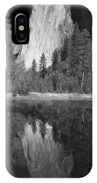 Granite iPhone Case - Ascend The Wall II by Jon Glaser