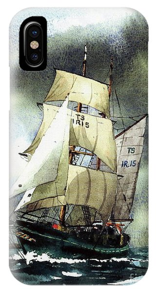 F  758  Asgard 11 Often Sailed Along The Wild Atlantic Way IPhone Case