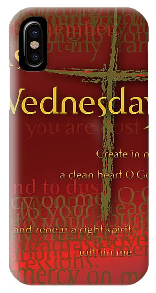 Ash Wednesday IPhone Case