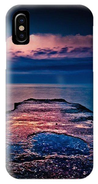 Ashbridges Bay Toronto Canada Dock At Sunrise No 1 IPhone Case