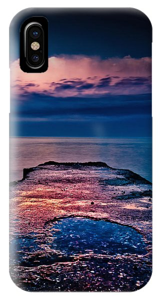 IPhone Case featuring the photograph Ashbridges Bay Toronto Canada Dock At Sunrise No 1 by Brian Carson