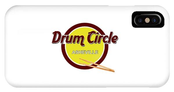 Asheville Drum Circle Logo IPhone Case