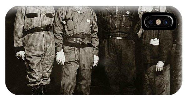 Ashley Pa  Glen Alden Coal Co  Huber Coal Breaker 1962 IPhone Case