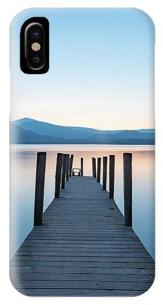 Water iPhone Case - Ashness Bridge  by Mark Mc neill