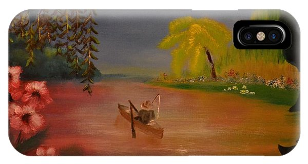 IPhone Case featuring the painting Asian Lillies by Denise Tomasura