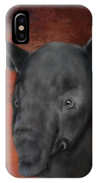 Asian Tapir IPhone Case
