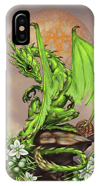 Asparagus Dragon IPhone Case