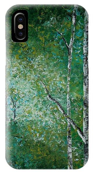 Aspen Forest IPhone Case