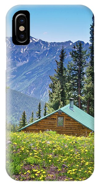 IPhone Case featuring the photograph Aspen Spring by Jeff Loh
