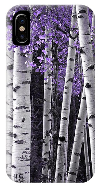 Aspen Trunks Lavender Leaves IPhone Case