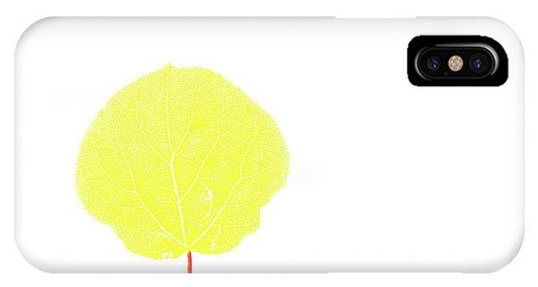 Aspen Yellow IPhone Case
