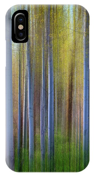 Aspens In Springtime IPhone Case