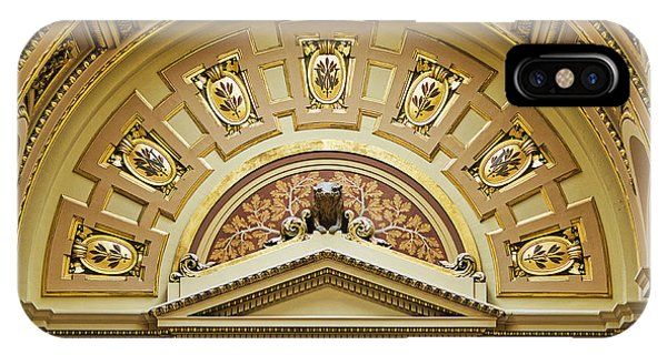 Assembly Entrance - Capitol - Madison - Wisconsin IPhone Case