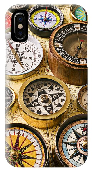 Assorted Compasses IPhone Case