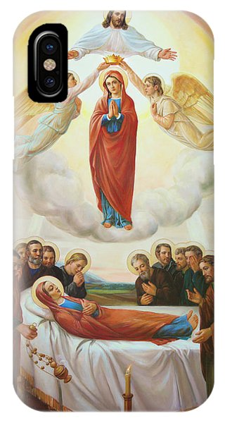 Assumption Of The Blessed Virgin Mary Into Heaven IPhone Case