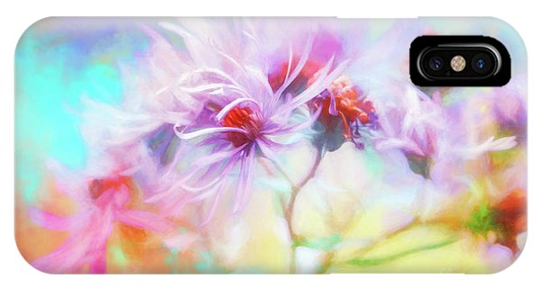 Asters Gone Wild IPhone Case