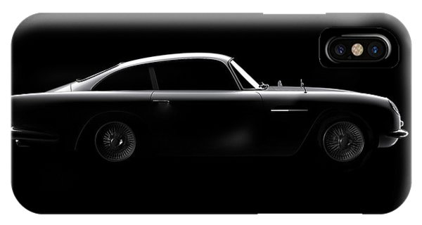 Aston Martin Db5 - Side View IPhone Case