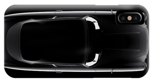Aston Martin Db5 - Top View IPhone Case