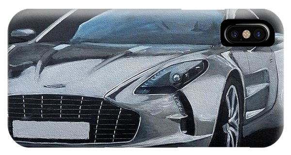 Aston Martin One-77 IPhone Case