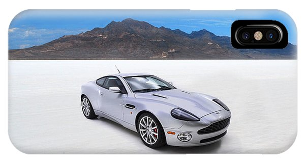Martin iPhone Case - Aston Martin Vanquish by Mark Rogan