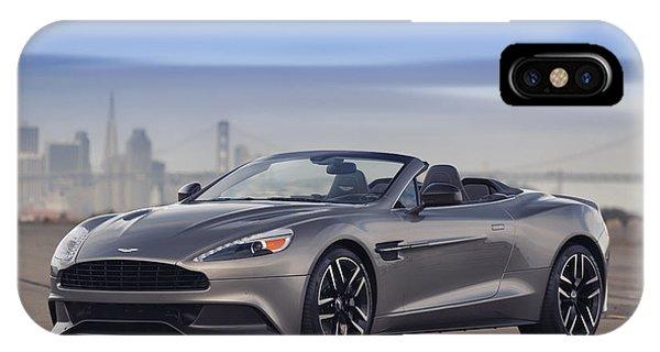 Aston Vanquish Convertible IPhone Case