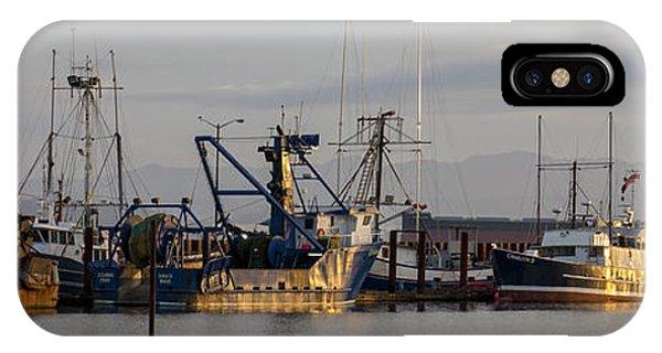 Astoria Fishing Fleet At Dawn IPhone Case
