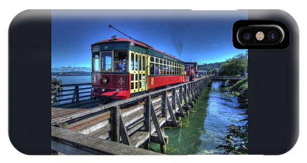 Astoria Riverfront Trolley IPhone Case